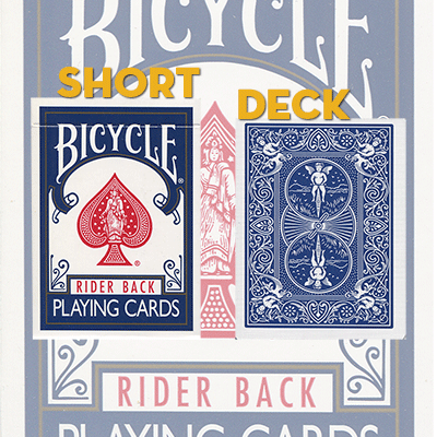 Short Bicycle Deck (BLUE) - Trick