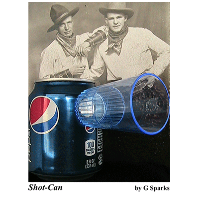Shot Can by G Sparks - Trick