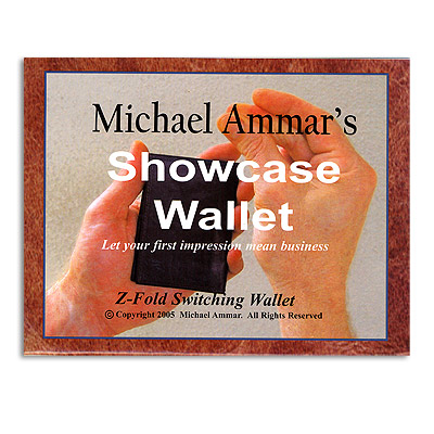 Showcase Wallet (LEATHER) by Michael Ammar - Trick