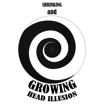 Shrinking and Growing Head Illusion (Plastic) by Top Hat Productions - Tricks
