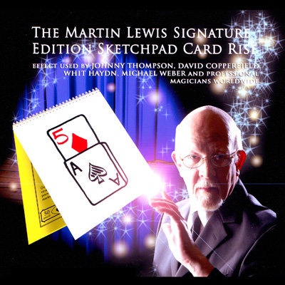 Signature Edition Sketchpad Card Rise - Martin Lewis