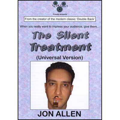 Silent Treatment (Universal Version) by Jon Allen - Trick