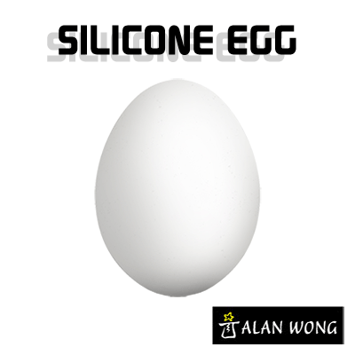 Silicone Egg (White)