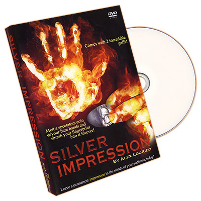 Silver Impression (UK 10p with DVD) by Alex Lourido - Trick