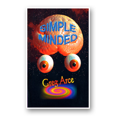 Simple Minded (Limited) by Gregory Arce - Book
