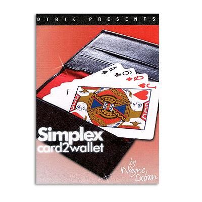 Simplex Card 2 Wallet Wayne Dobson