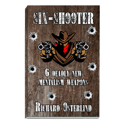 Six-Shooter by Richard Osterlind - Book