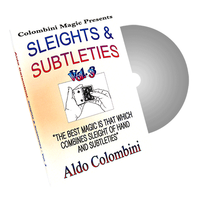 Sleights and Subtleties Volume 3 by Wild-Colombini - DVD