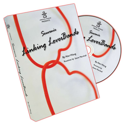 Souvenir Linking Loverbands (20 link, 10 single, DVD) by Alan Wong - Tricks