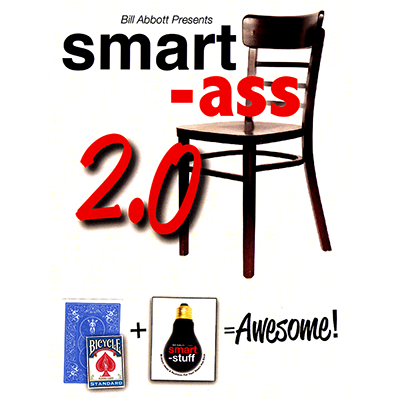 Smart Ass 2.0 (Blue with bonus pack) by Bill Abbott