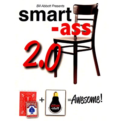 Smart Ass 2.0 (Red with bonus pack) by Bill Abbott