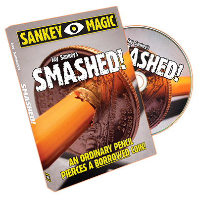 Smashed (With Canadian Coin) by Jay Sankey - Trick