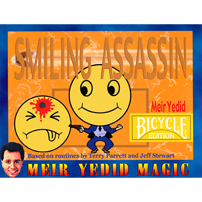 Smiling Assassin (Bicycle Edition) by Meir Yedid - Trick