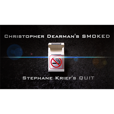 Smoked 2.0 (Gimmick,DVD & Book) by Christopher Dearman (With BONUS / Quit by Stephane Krief)