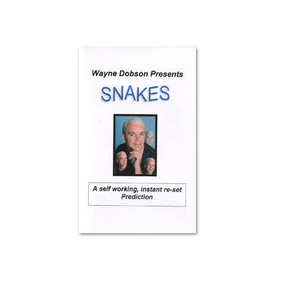 S.N.A.K.E.S by Wayne Dobson - Tricks