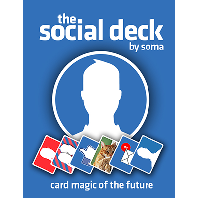 The Social Deck (DVD and Gimmick by Soma