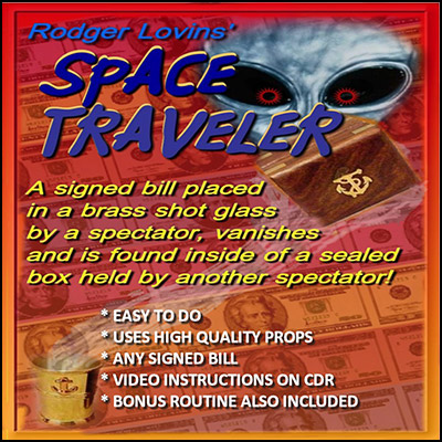 Space Traveler by Rodger Lovins - Trick