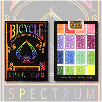 1st Run Spectrum Decks by US Playing Card - Trick