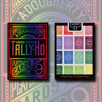Spectrum Tally Ho Deck by US Playing Card Co. - Trick