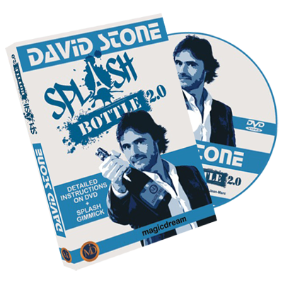 Splash Bottle 2.0 (DVD and Gimmicks) by David Stone & Damien Vappereau - Trick