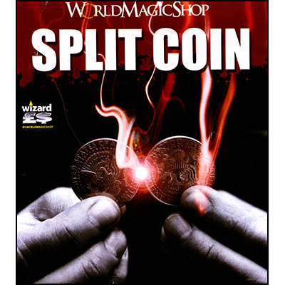Split Coin (2 Euro Gimmicked coin only) - Trick