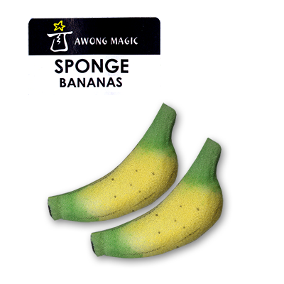 Sponge Bananas (Medium size) by Alan Wong - Trick