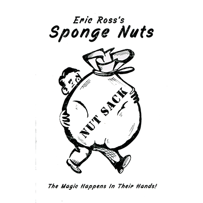 Sponge Nuts (1.5 in.) by Eric Ross - Trick