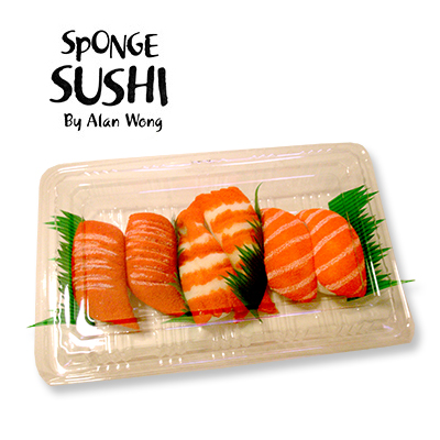 Sponge Sushi ( Pack of 6 ) by Alan Wong - Trick