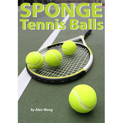 Sponge Tennis Balls (Set of 4) by Alan Wong - Trick