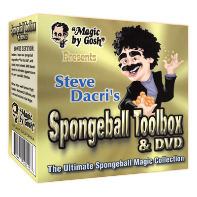 Spongeball Toolbox con DVD
