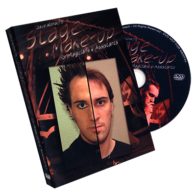 Stage Make-up - Dave Womach - DVD