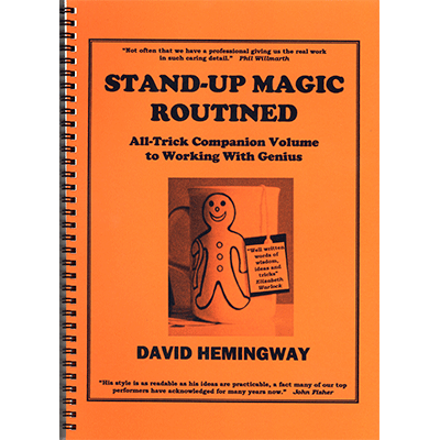 Stand Up Magic - David Hemingway - Libro de Magia