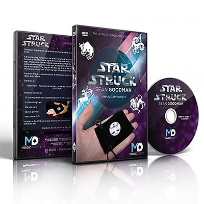 Starstruck (DVD and Gimmick) by Sean Goodman and Magic Direct - DVD