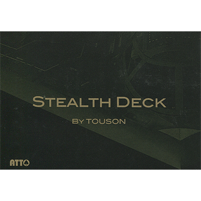 Stealth Deck and Logical Deck combo pack (Red) by Masuda - Trick