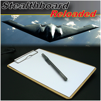 Stealthboard Reloaded(Masonite 6X9) by Mark Zust