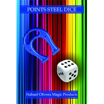 Points Steel Dice (2 Dice Set)