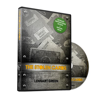 The Stolen Cards (DVD and Deck) by Lennart Green and Luis De Matos