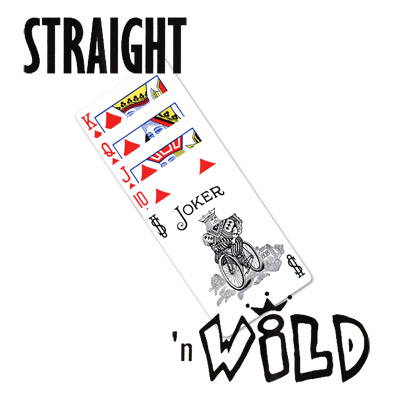 Straight 'N' Wild (POKER - Small) - Tricks