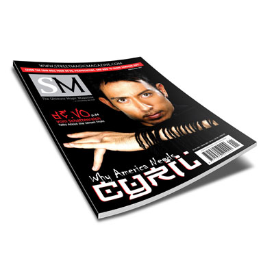 Street Magic Magazine March/April 2007 Issue by Black's Magic - Book