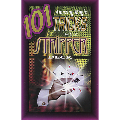 101 Sorprendentes Trucos de Magia con Cartas Stripper Deck - Royal Magic - Libro de Magia