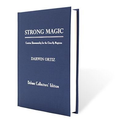 Strong Magic - Deluxe Collector's Edition by Darwin Ortiz (Limited Edition) - Book