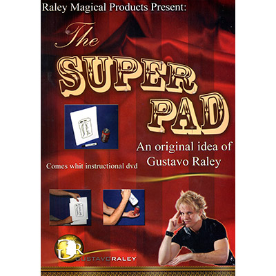 Super Pad (with DVD) by Gustavo Raley - Trick
