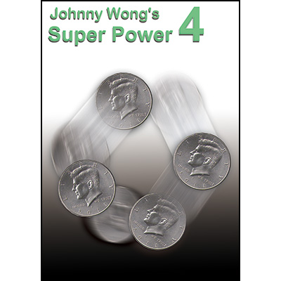 Johnny Wong's Super Power 4 (with DVD) -by Johnny Wong- Trick