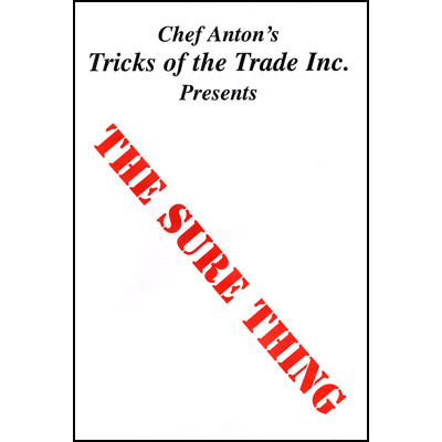 Sure Thing by Chef Anton - Trick