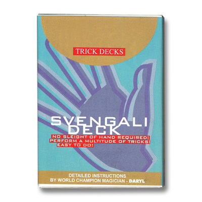 Svengali Deck Cartas Bicycle - Rojo