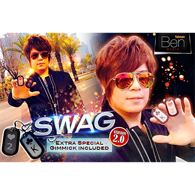 SWAG V2 (2 Gimmicks and DVD) by Taiwan Ben - Trick