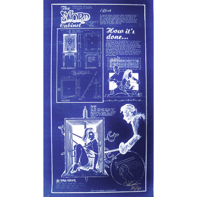 "Sword Box Poster, (42"" x 22"") in tube by Paul Osborne - Trick"
