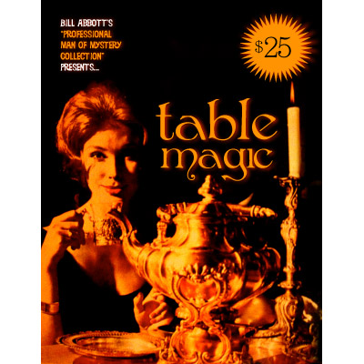 Table Magic by Bill Abbott - Book