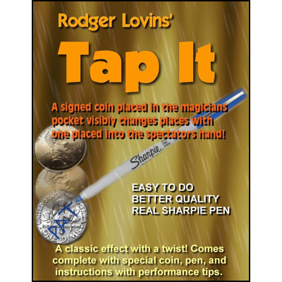 Tap It by Rodger Lovins - Trick