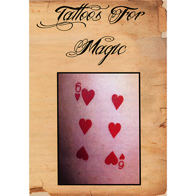 Tattoos (Three Of Diamonds) 10 pk.